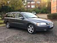2007 VOLVO V70 2.4 D5 SPORT SPECIAL EDITION AUTOMATIC LEATHERS