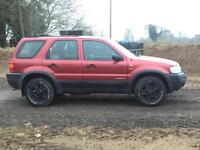 Ford Maverick 3.0 auto 2003/53 XLT 116000 miles FSH Red Metallic, Black leather
