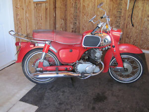 Vintage 1966 Honda Dream 150