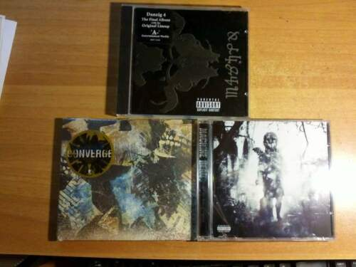 Cd metal danzig 4-converge axe to fall-machine...