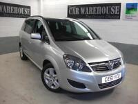 2012 Vauxhall ZAFIRA EXCLUSIV Manual MPV