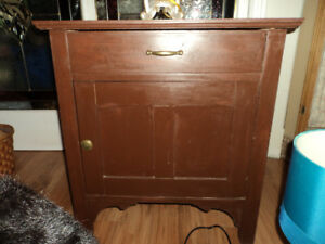 Vintage Wash Basin Cabinet