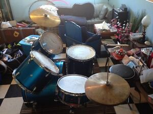 Basix drum set USED