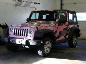 2014 Jeep Wrangler Sport *WRAP CAN BE REMOVED*