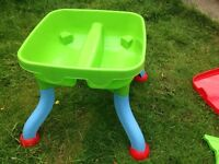 Sandpit and Water Toy