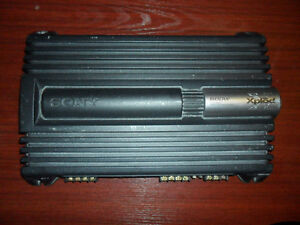 Sony XM-ZR604 CAR STEREO AUDIO AMP  600 Watts High Output
