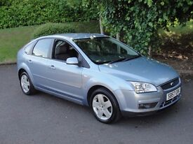 Ford Focus 1.8 STYLE (blue) 2007