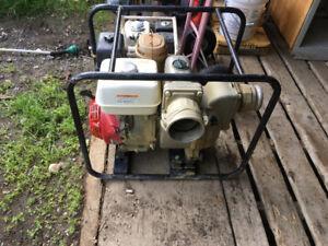 Honda 4 Inch Trash pump