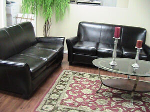 FULL leather or fabric sofas, sectionals, recliners,