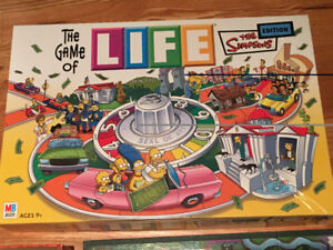 SIMPSONS LIFE GAME