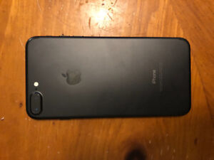 iPhone 7 Plus BLACk 32GB UNLOCKED