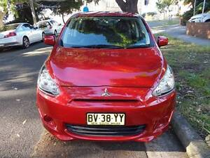 Very Fuel Efficient Reliable Top Condition 2013 Mitsubishi Mirage Pagewood Botany Bay Area Preview