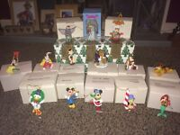 Disney Collectors Grolier Christmas Tree Decoration Bundle