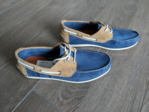 Men Barbour Capstan Moccasins Leather Boat Shoes