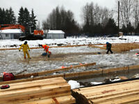 Workers wanted carpenters and a labourer - Courtenay BC