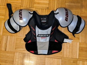 Hockey Adult gear neck guard shoulder pads and elbow pads