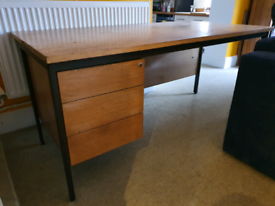 Large office desk with drawers