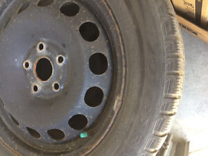75% discount - 205/55R16 Tires and  Rims