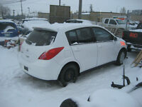 08 Nissan Versa part out