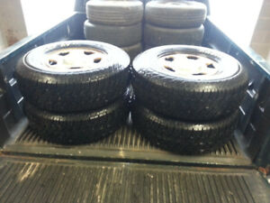 Tires and Rims from 02 Escape 235-75-15