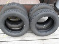 "4- 185 65 r15"" winter tires ""new"""