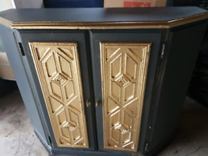 Gorgeous  lotus  entry  hall  cupboard