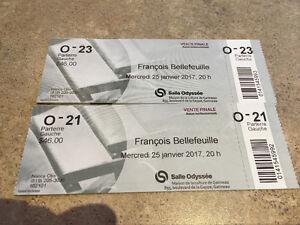Francois Bellefeuille billets
