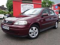 2003 Vauxhall Astra 1.6i 16v Elegance - MAY 2018 MOT - GOOD S/H - CLEAN & TIDY