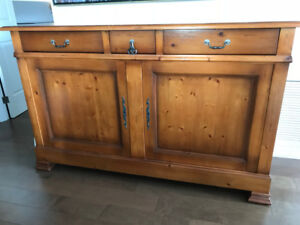 Pine Kitchen or Dining Side Cabinet