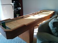 10.ft. shuffleboard table for sale.