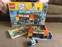 Lego The Simpsons Lego Kwik-E-Mart - complete with box and instructions