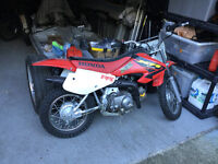 Honda xr70 kids dirt bike