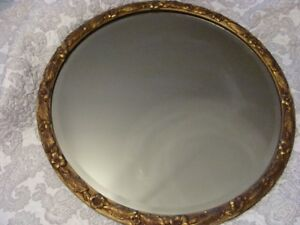 Antique bevel mirror