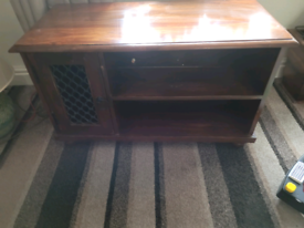 Indian wood tv unit