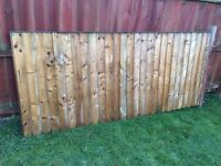 Free Garden fence panel