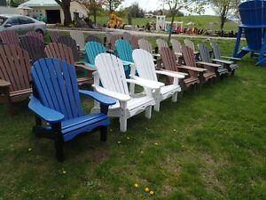 Muskoka Chairs; Ontario's Largest Selection  Maintenance Free