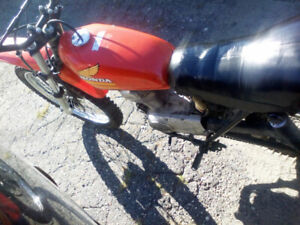 Honda xr 125 running great 750$