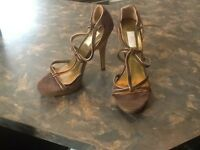 JLo Heels / Sz 8 / Brown / BNWT