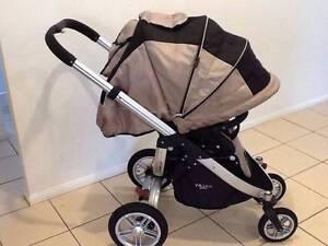 Valco Rebel Q Air pram / stroller. So versatile! Upper Coomera Gold Coast North Preview