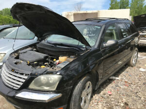 2004 Chrysler Pacifica AWD ** FOR PARTS ** INSIDE & OUTSIDE **