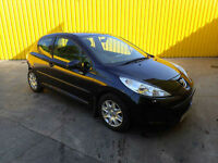 2009 PEUGEOT 207 1.4 HDI 5 SPEED MANUAL