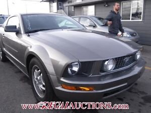 2005 FORD MUSTANG BASE 2D COUPE BASE