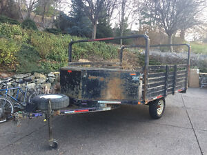 Sled trailer and Utility trailer