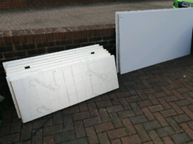 Plasterboard and insulation