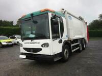 2013 - 13 - DENNIS ELITE 6X2 24TON AUTO REAR STEER OLYMPUS BODY REFUSE C/W LIFT
