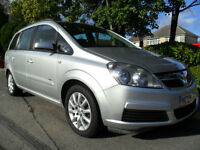 VAUXHALL ZAFIRA 1.6 2006 CLUB 7 SEATER PART EXCHANGE WELCOME CALL 01202 577544
