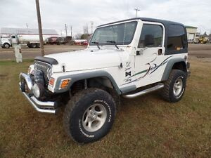 2000 Jeep TJ Sport SUV, Crossover