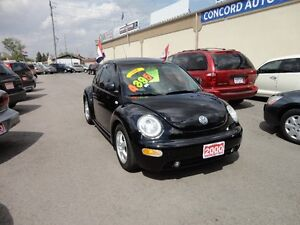 2000 Volkswagen New Beetle GLS Coupe (2 door) E-TESTED&CERT