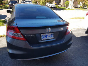 2012 Honda Civic Coupe - Rear View Camera - GPS – DVD- Certified Cambridge Kitchener Area image 3