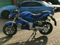 2004 GILERA DNA 50CC IMMACULATE BIKE ONLY 975 MILES NOT RUNNER 125CC